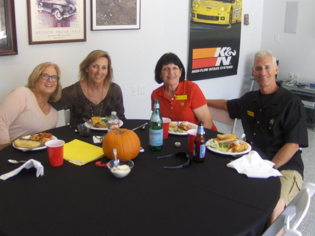 013 co-pilot shellee jean and denise longwell along with morna and tony levatino