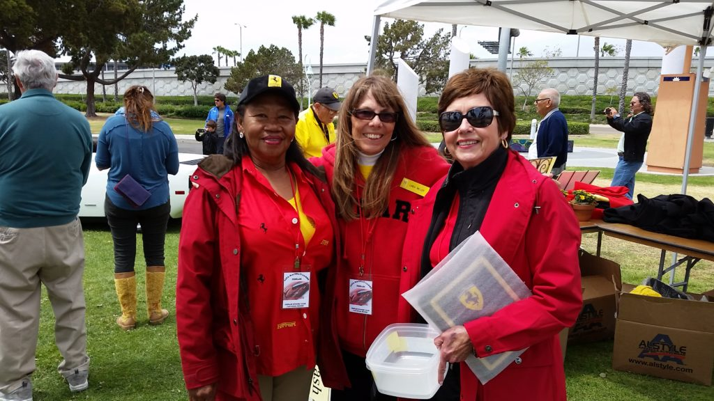 Doris Charles, Linda Miller and Joanne Hyldahl.