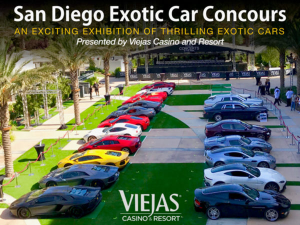 San Diego Exotic Car Concours – November 3, 2018