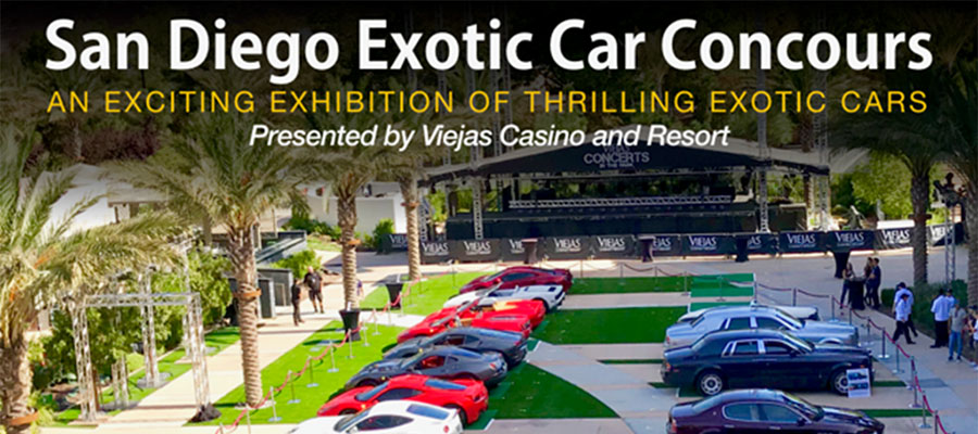 San Diego Exotic Car Concours [Article]