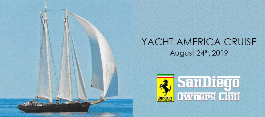 Yacht America Cruise – August 24, 2019