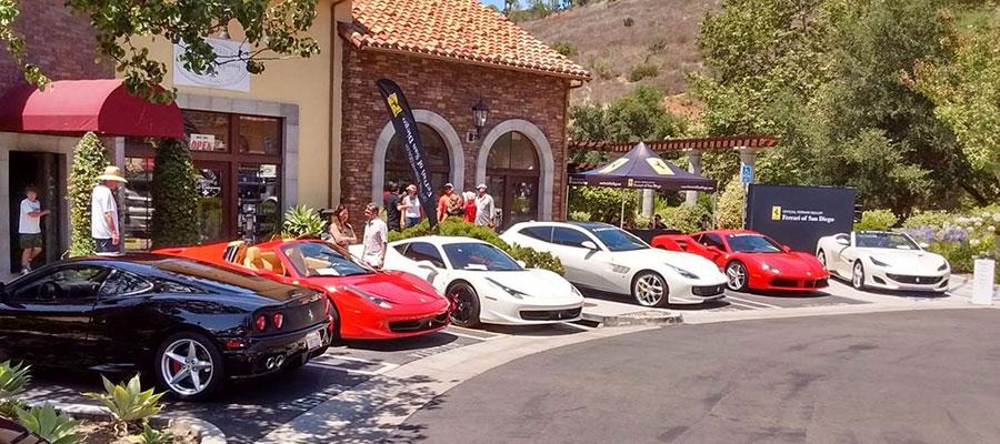 Ferraris at Cielo – June 6, 2021
